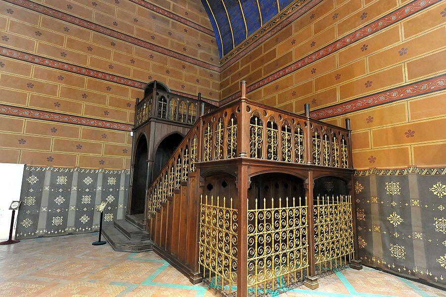 Schloss Blois - Treppe im Ständesaal