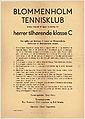 Blommenholm Tennisklub innbyr herved til åpen turnering for herrer tilhørende klasse C (14672088437).jpg