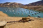 Boats on Lake Oroville during the 2021 drought.jpg