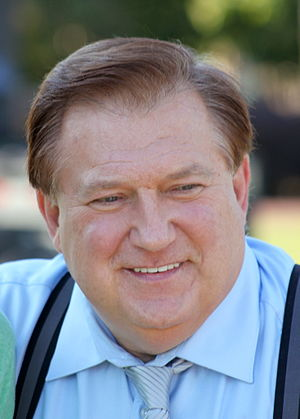 English: Bob Beckel, American political pundit...