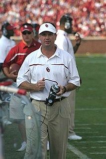 Bob Stoops American college football player, college football coach