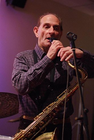 1936 in jazz - Saxophonist Bobby Wellins in 2008