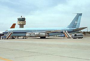 Maersk Air - Boeing 720B at Faro Airport 1980