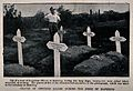 Boer War; five graves of officers killed during the siege of Wellcome V0015634.jpg