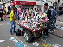 Vendedor ambulante - Wikipedia, la enciclopedia libre