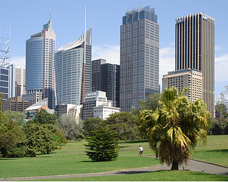 Governor Phillip Tower - Image: Botanical Gardens, Sydney, Australia 1