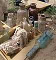 Bottles excavated at the Niagara Apothecary.jpg