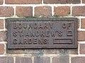 Boundary marker in St. Andrew's Gardens, Gray's Inn Road, WC1 - geograph.org.uk - 1228920.jpg