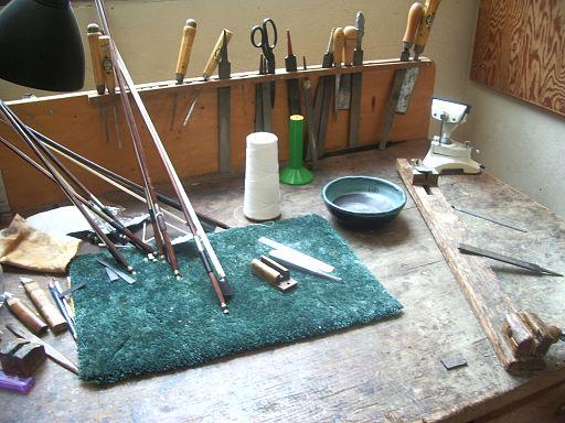 recurve bow brands - Bow maker workshop