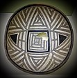 Bowl with geometric design, Swarts Ranch Ruin, Mimbres, New Mexico, c. 900-1200 AD, ceramic - Fitchburg Art Museum - DSC08787.JPG
