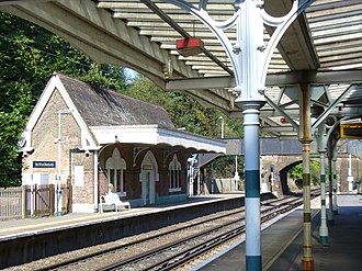 Box Hill & Westhumble railway station - Image: Box Hill and Westhumble Station geograph 971678