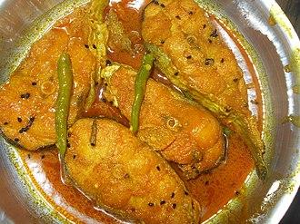 Machher Jhol - Image: Boyal Macher Jhol