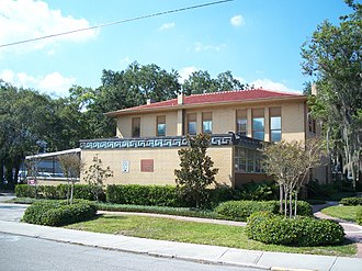 National Register of Historic Places listings in Manatee County, Florida - Image: Bradenton FL Carnegie Library 01