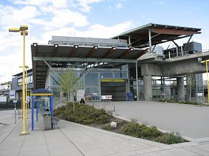 Braid station - Image: Braid Sky Train Station