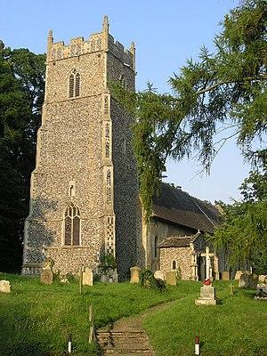 Brampton, Suffolk - Image: Brampton Church of St Peter