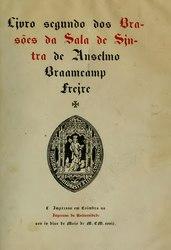 Anselmo Braamcamp Freire: Brasões da Sala de Sintra
