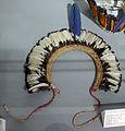 Brasile, mato grosso, waujà, corona radiale con piume, xx sec..JPG
