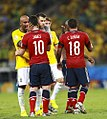 Brazil and Colombia match at the FIFA World Cup 2014-07-04 (23).jpg
