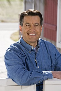 Brian Sandoval American judge and state Governor