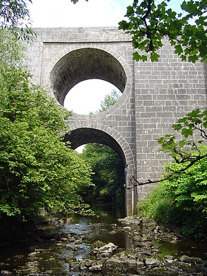 Aille River (County Clare) - A bridge over the Aille River
