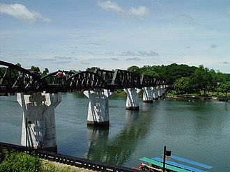 Kanchanaburi Province - Bridge over River Kwai