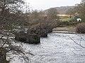 Bridge piers of the old Border Counties Railway viaduct (3) - geograph.org.uk - 1057552.jpg