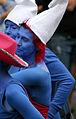 Brighton Pride Parade 2009 Smurfs (3779612652).jpg