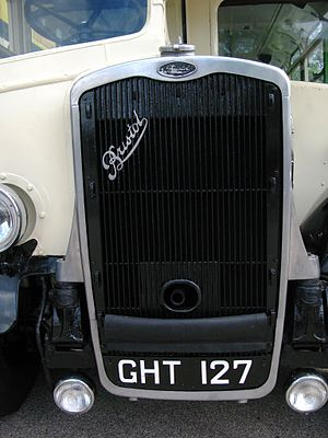 Bristol Commercial Vehicles - The Bristol scroll featured on the radiator of a K5G bus