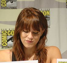 Brit Morgan, San Diego Comic Con 2009.jpg