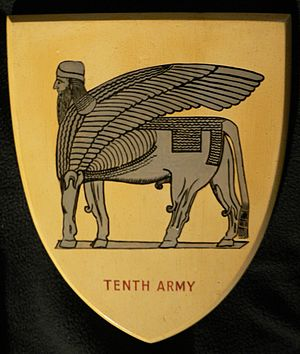 Tenth Army (United Kingdom) - 10th Army insignia.