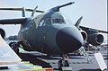 British Aerospace BAe-146-100STA G-BSTA British Aerospace, Farnborough UK, September 1988. (5589840814).jpg