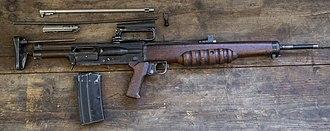 EM-2 rifle - The EM-2 as Rifle No. 9
