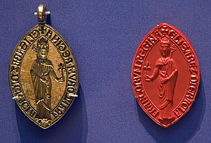 Isabella of Hainault - Image: Britishmuseumisabell ahainaultseal