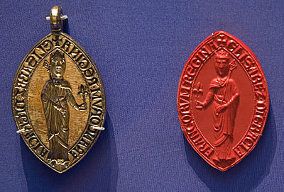 Seal of Isabella, currently in the British Museum. Britishmuseumisabellahainaultseal.jpg