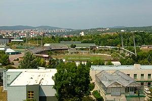 """Брно-Понава - Футбольный стадион """"За Лужанками"""", с юга.jpg"""
