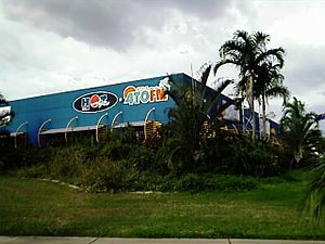 Media in Townsville - Broadcast centre for 4TO, Hot FM, Mix 106.3 and Sea FM