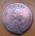 Broke 1814 Halifax copper token.jpg