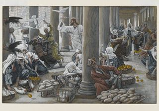 The Merchants Chased from the Temple