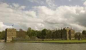 Broughton Castle - Broughton Castle vista