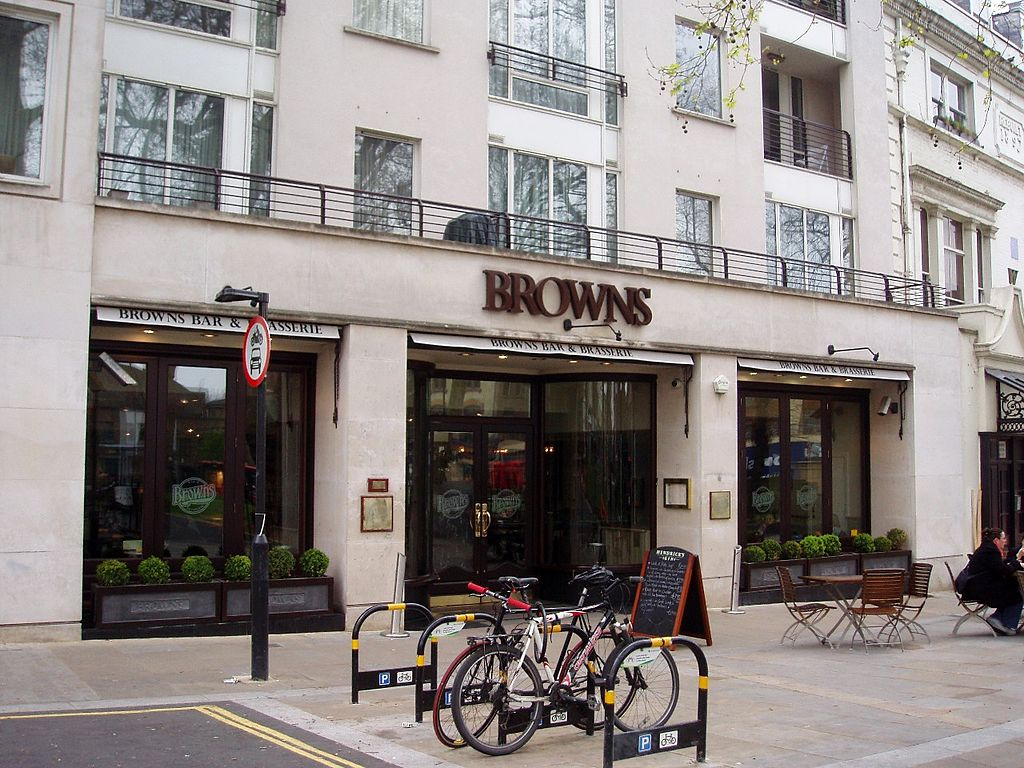 Browns Restaurant In London England