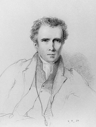 Bryan Procter - Bryan Waller Procter in an 1830 portrait by William Brockedon