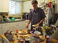 Bryson and the tea party spread.jpg
