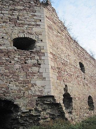 Buchach castle - Image: Buchach castle. 12