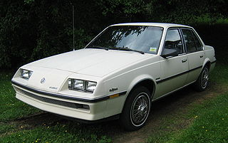 Buick Skyhawk American automobile built by Buick from 1974 to 1989