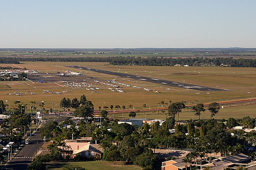 Bundaberg Airport overview Vabre