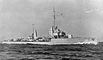 St Nazaire Raid - German torpedo boat Jaguar