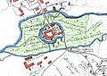 Burg Campen 1740 Lagekarte.jpg