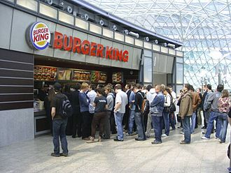AmRest - Burger King in Złote Tarasy, Warsaw