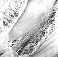 Burroughs Glacier, mountain glacier terminus, August 22, 1965 (GLACIERS 5778).jpg