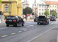 Bush's motorcade in Zagreb (6).jpg